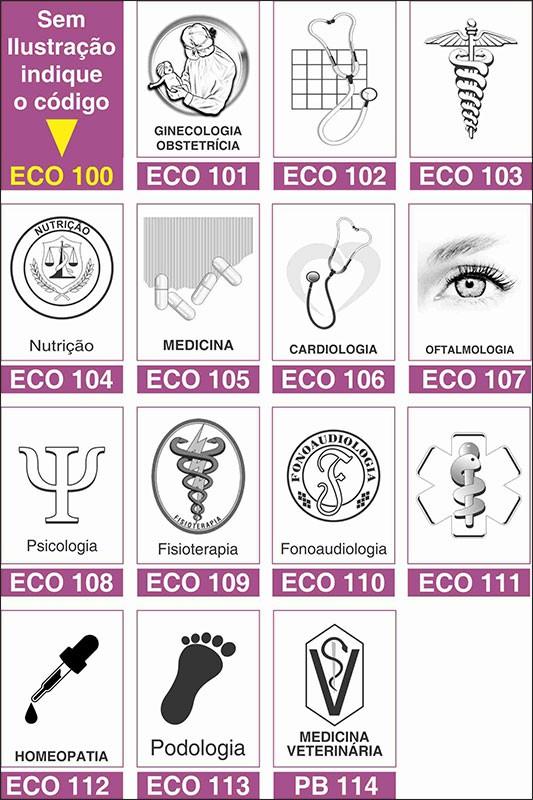 Receituário Médico Reciclado / Eco